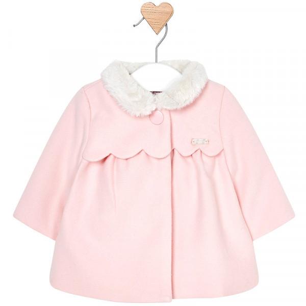 Mayoral Παλτό μουφλόν για μωρό κορίτσι 2440-07 - bambinobaby a8698d18534